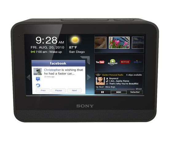 Sony Dash Personal Application Viewer