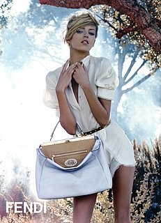 Photo of Fendi Spring 2010 Ad Campaign Featuring Anja Rubik 2010-01-07 07:50:22