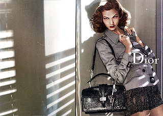 Karlie Kloss in Dior Spring 2010 Ads