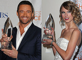 Full List of Winners Plus Photos from the Press Room at the People's Choice Awards 2010 Including Glee, Taylor Swift