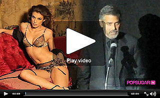 Video of George Clooney's Mariah Carey Moment and Elisabetta's Lingerie Shoot!