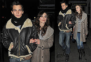 Photos of Keira Knightley and Rupert Friend Leaving Dinner in London 2010-01-12 17:00:00