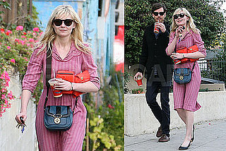Photos of Kirsten Dunst Walking in LA With a Friend