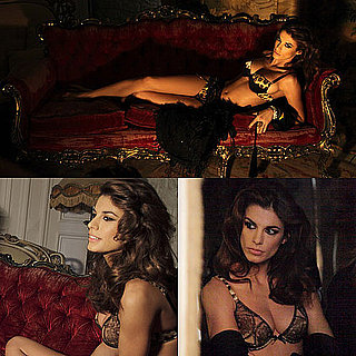 Photos of Elisabetta Canalis in Her Underwear For Roberto Cavalli Underwear 2010-01-11 20:23:29