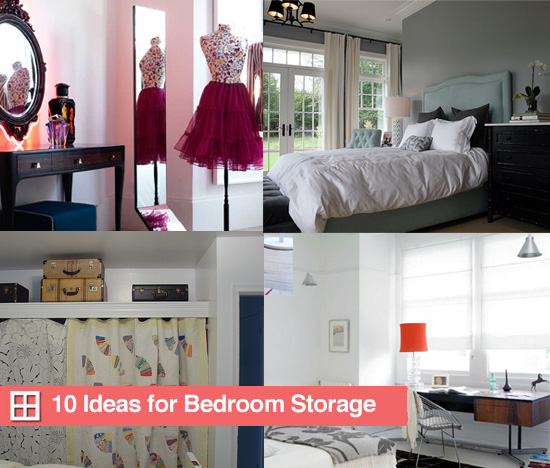 Bedroom storage ideas modern world furnishing designer for Bedroom organization ideas