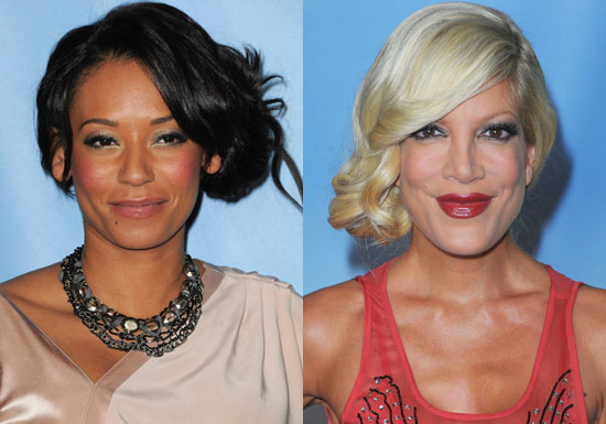 Formal Hairstyles, Mel B Hair, Tori Spelling Hair, Side Updo, Updo Hairstyles