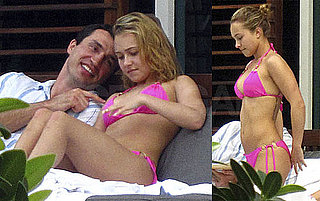 Photos of Hayden Panettiere With Wladimir Klitschko in Miami