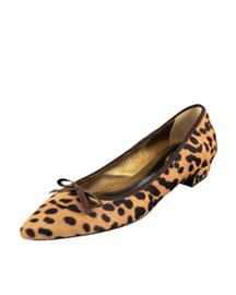 Prada-Leopard Hair-Calf Skimmer