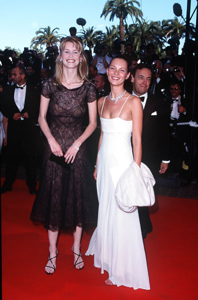 1998: Cannes Film Festival with Claudia Schiffer