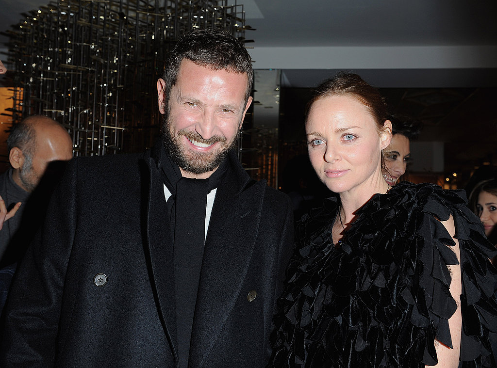 Stefano Pilati and Stella McCartney