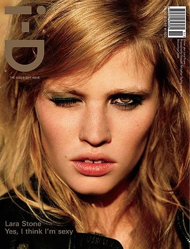 Lara Stone, Exposed, for i-D November 2008