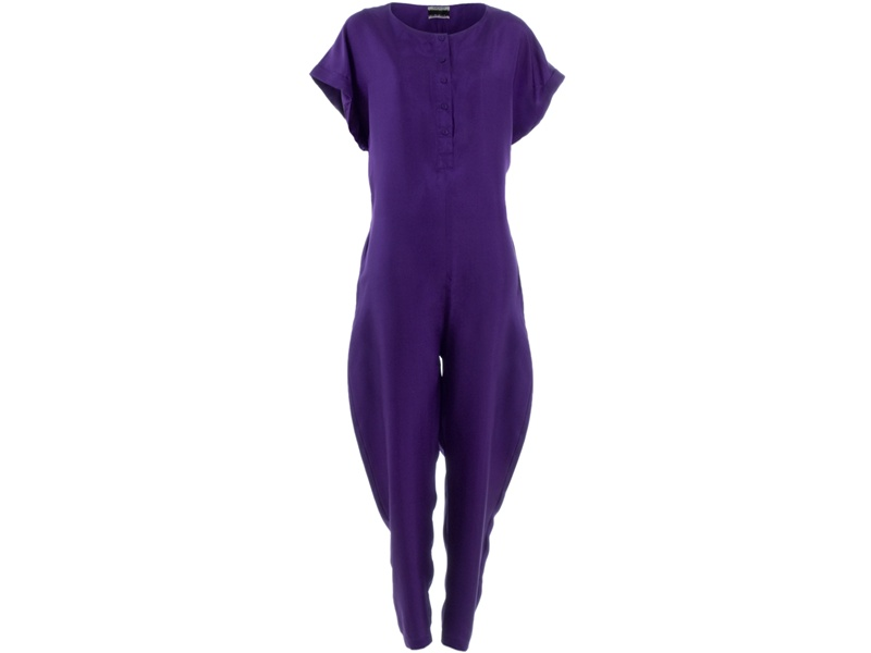 <b>A Great Jumpsuit</b>. Henrik Vibskov Detour Jumpsuit $409 @ Farfetch.com