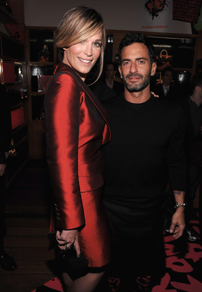 Molly Sims & Marc Jacobs