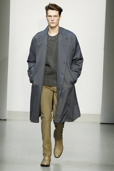 Oversized Outerwear at Calvin Klein
