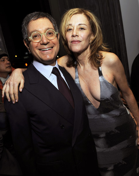 Jeffrey Deitch and Page Powell