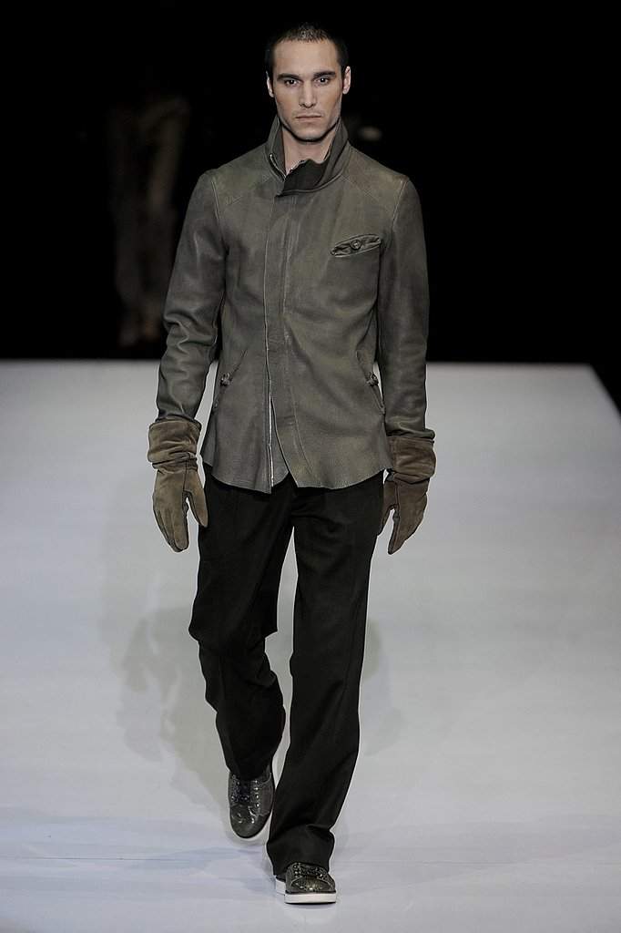 Milan: Emporio Armani Men's Fall 2009