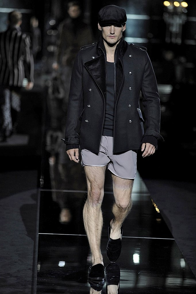 Milan: Dolce & Gabbana Men's Fall 2009