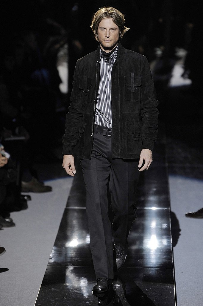 Milan: Versace Men's Fall 2009