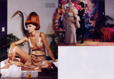 Vogue Italia, Photography by Steven Klein, Styling by Patti Wilson 