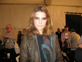 Backstage With MAC at the Bill Blass Autumn Winter 2008