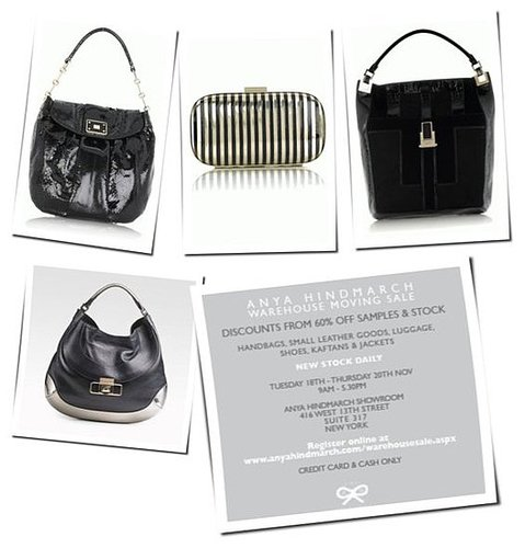 Anya Hindmarch Sample Sale, Bag Love