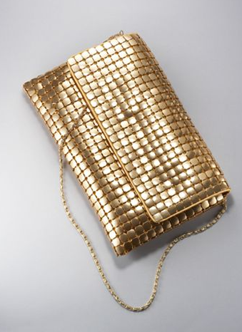 Fold Over Metal Mesh Clutch (was $24.95) $9.98 @ New York & Company