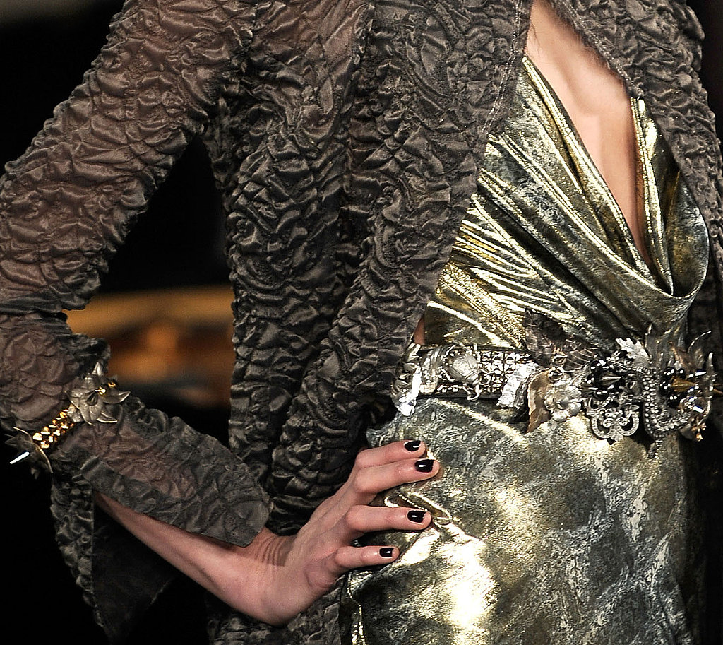 Pamela Love's Spikey Floral Jewelry for Zac Posen Fall 2009