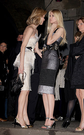 Eva Herzigova, Claudia Schiffer