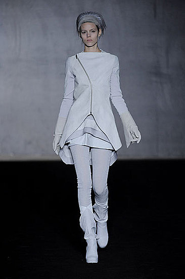 Rick Owens Fall 2009: A Goth Take on Swan Lake