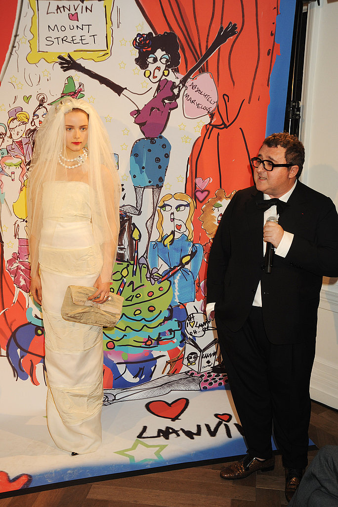 Alber Elbaz Brings Out His Jokes for London Lanvin Opening