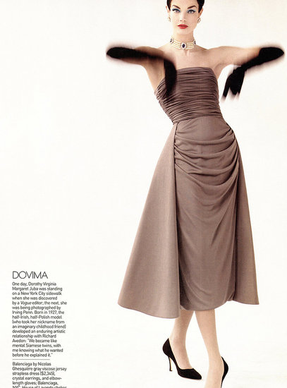 Natalia Vodianova as Dovima