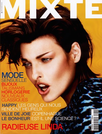 Issue 64: Linda Evangelista by Josh Olins