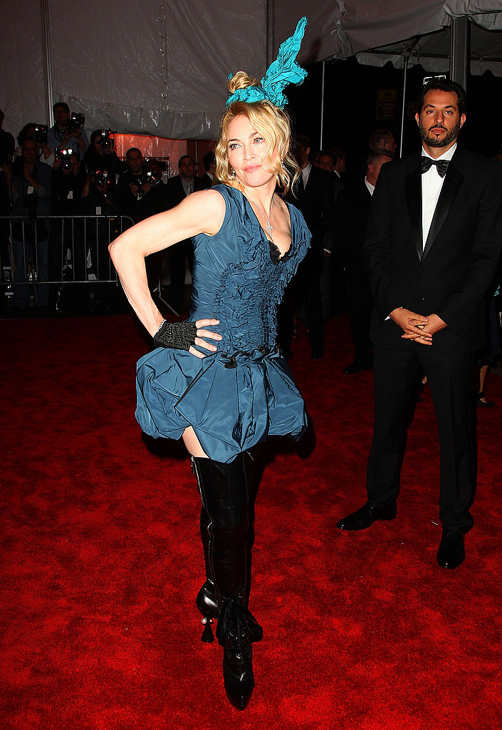 Madonna in Louis Vuitton