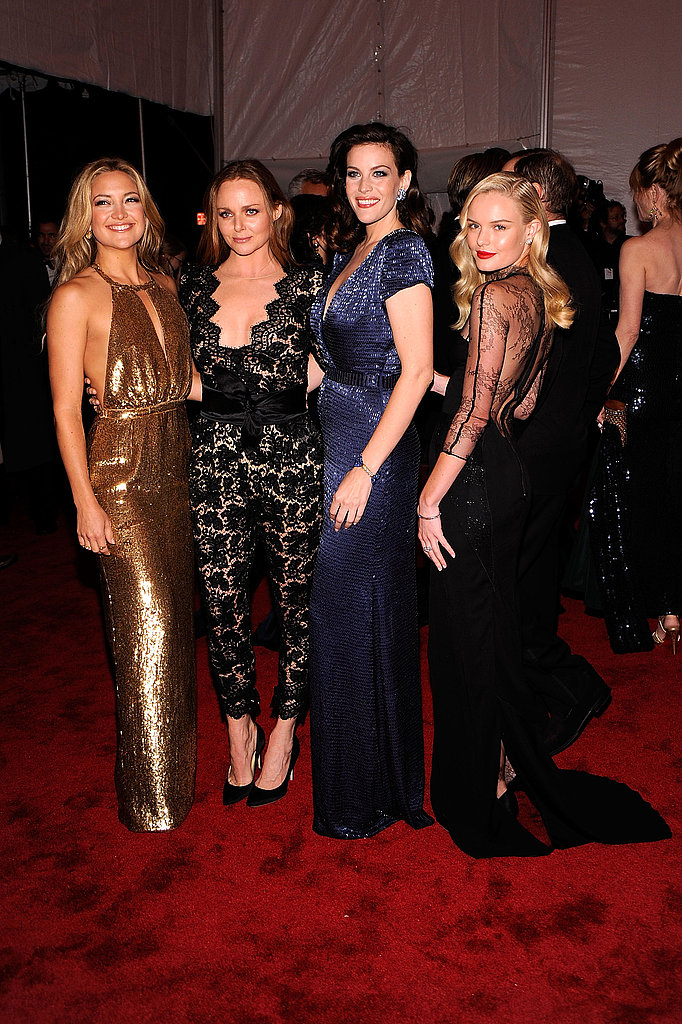 Kate Hudson, Stella McCartney, Liv Tyler, Kate Bosworth all in the designer
