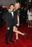 Richard Chai and Karolina Kurkova in his design