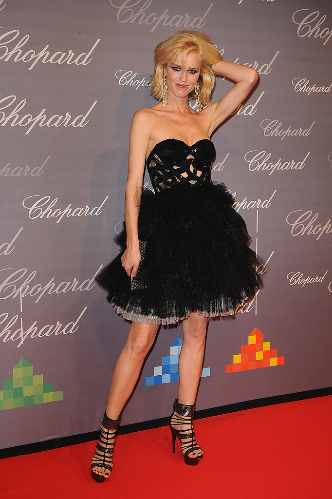 May 17: Eva Herzigova at The Chopard Trophy Award Award party
