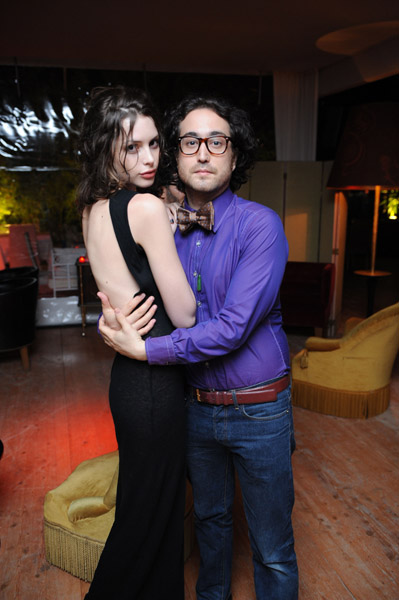 May 18: Kemp Muhl, Sean Lennon at ONEDREAMRUSH party