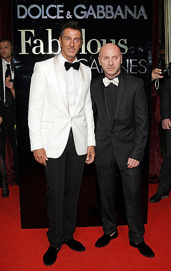"May 22: Stefano Gabbana and Domenico Dolce at their ""Fabulous in Cannes"" bash at Le Baoli"