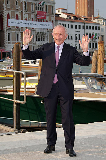June 4: Francois Pinault at the opening of the Francois Pinault Foundation