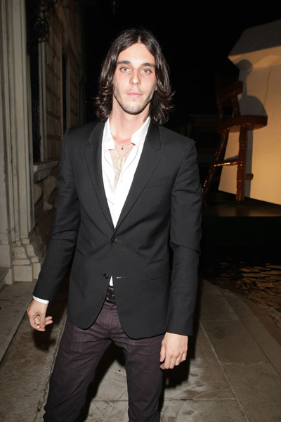 June 5: Vladimir Restoin-Roitfeld at L'Uomo Vogue's Art Issue Opening Party