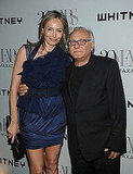 Lubov and Max Azria
