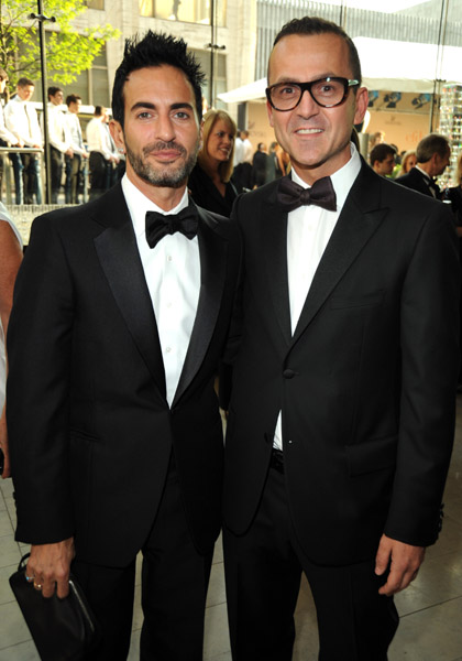 Marc Jacobs and CFDA's Steven Kolb