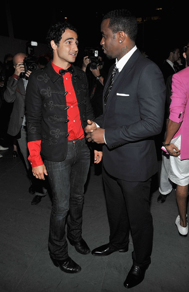 Zac Posen, Sean Combs
