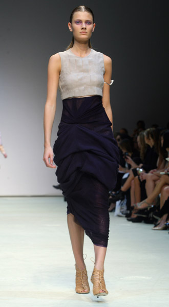 Marios Schwab Debuts Three-Way Layering for Spring 2010