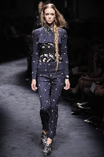 "Miuccia Prada Interprets ""Innocence"" with Cat and Bird Prints for Miu Miu Spring 2010"