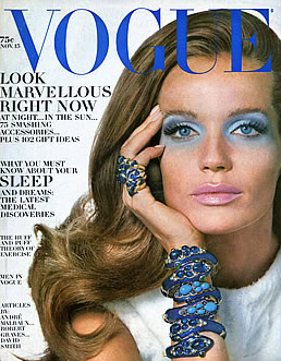 Veruschka, Vogue, November 1968