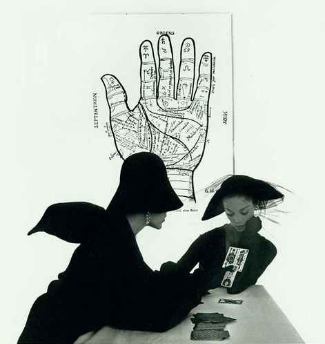 The Tarot Reader (Jean Patchett & Bridget Tichenor), New York, 1949