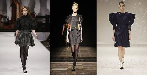 Fall 2009 Copenhagen Trend Report: Statement Shoulders