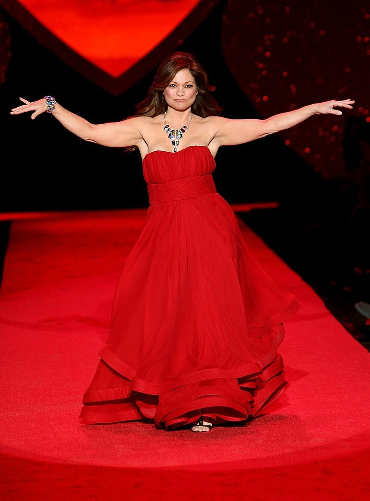 Valerie Bertinelli in Christian Siriano