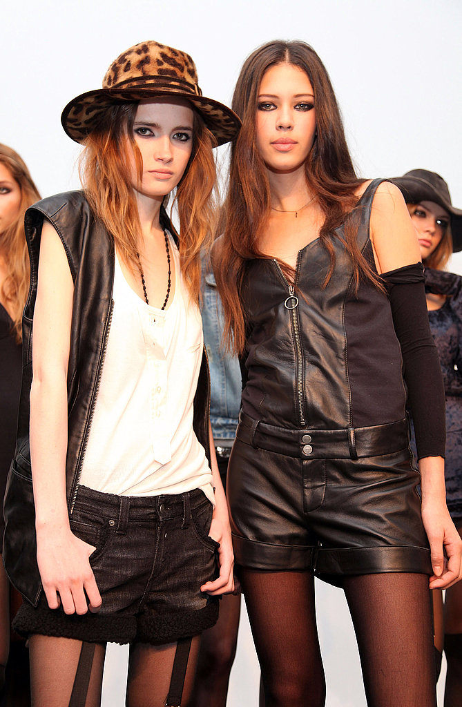 New York Fashion Week: Erin Wasson + RVCA Fall 2009